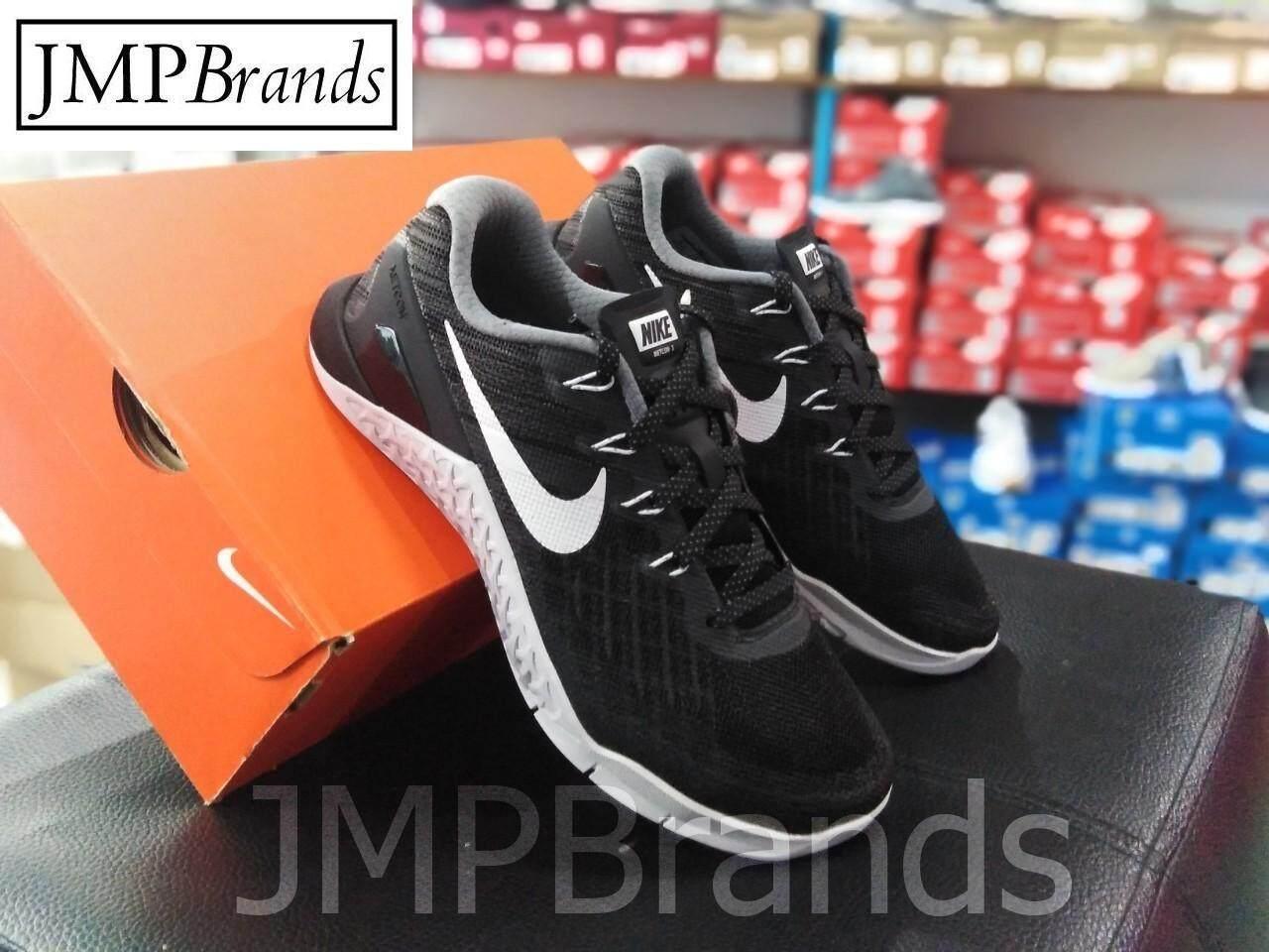ยี่ห้อนี้ดีไหม  กำแพงเพชร Nike Women's WMNS Metcon 3 Trainers (Black/White)