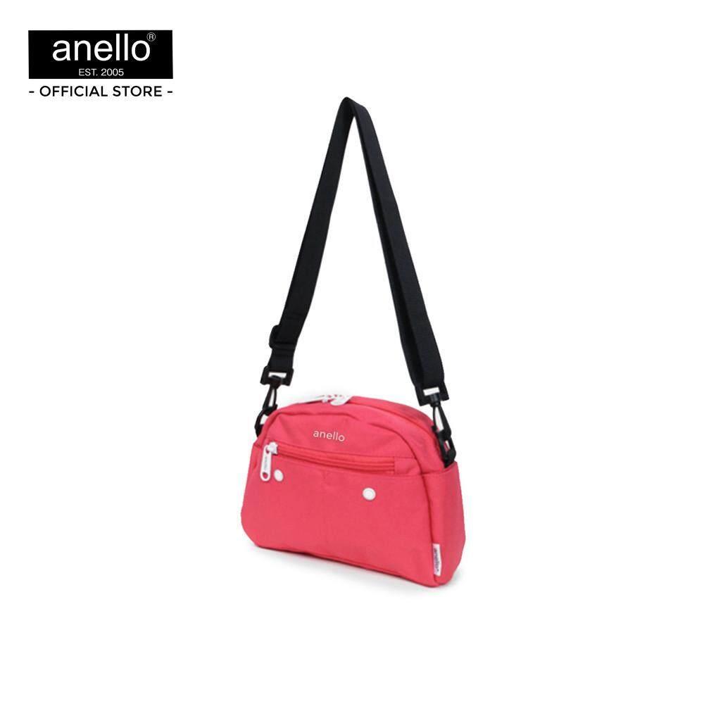 ยี่ห้อนี้ดีไหม  อ่างทอง anello กระเป๋าสะพายไหล่ CS 10 Pockets Shoulder_AT-S0119T
