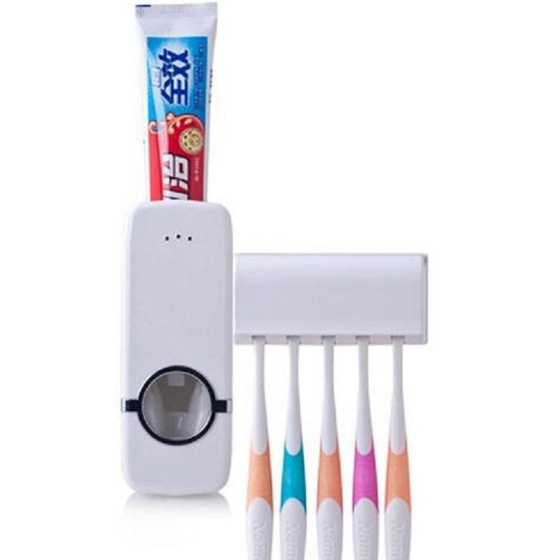 สุดยอดสินค้า!! ที่บีบยาสีฟันอัตโนมัติ เป็นระเบียบ:สะดวก ใช้งานง่าย ส่งฟรี Kerry