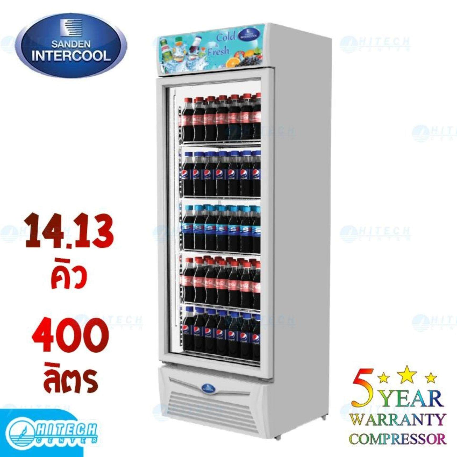 ยี่ห้อไหนดี  พังงา SANDEN ตู้แช่เย็น 1 ประตู 14.13 คิว รุ่น SPA-0403A