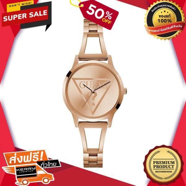 เก็บเงินปลายทางได้ นาฬิกาข้อมือคุณผู้หญิง GUESS นาฬิกาข้อมือผู้หญิง LOLA รุ่น W1145L4 สีโรสโกลด์ ของแท้ 100% สินค้าขายดี จัดส่งฟรี Kerry!! ศูนย์รวม นาฬิกา casio นาฬิกาผู้หญิง นาฬิกาผู้ชาย นาฬิกา seiko