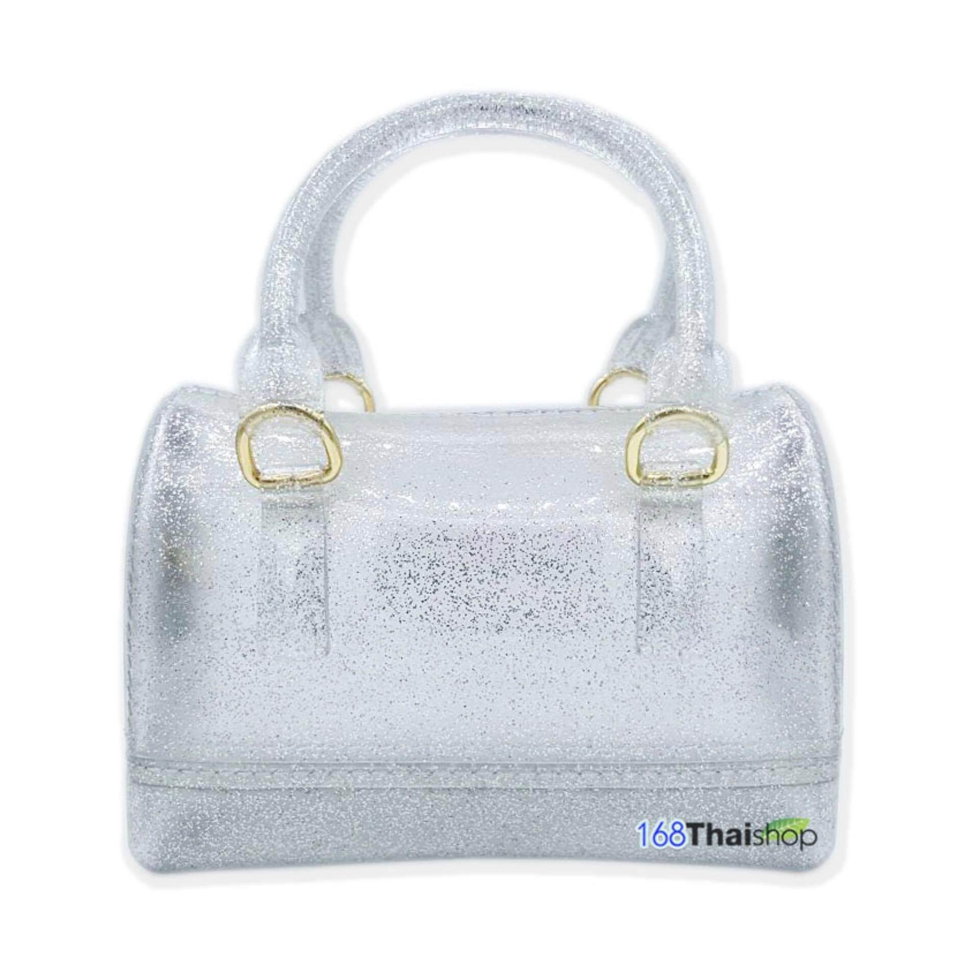 กระเป๋าเป้สะพายหลัง นักเรียน ผู้หญิง วัยรุ่น ยะลา Karmart Cathy Doll Mini Jelly Bag Set กระเป๋าแฟชั่น กระเป๋าสะพายข้าง กระเป๋าใส่เครื่องสำอาง กระเป๋าขนาดพกพา มี 2 แบบให้เลือก  1 ใบ