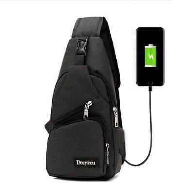 กระเป๋าเป้สะพายหลัง นักเรียน ผู้หญิง วัยรุ่น สุพรรณบุรี BAIFA SHOP PDB 85 USB กระเป๋าสะพายสำหรับผู้ชาย Canvas