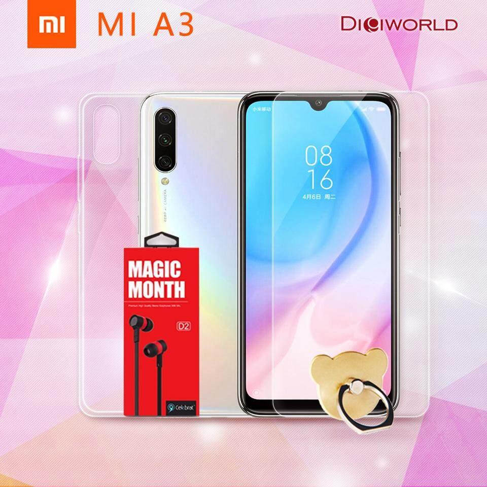 บุรีรัมย์ Xiaomi Mi A3 (4+64GB / 4+128GB)  ซื้อ1ฟรี3 ฟิล์ม+เคสใส+หูฟังin ear รับประกันร้าน 1 ปี