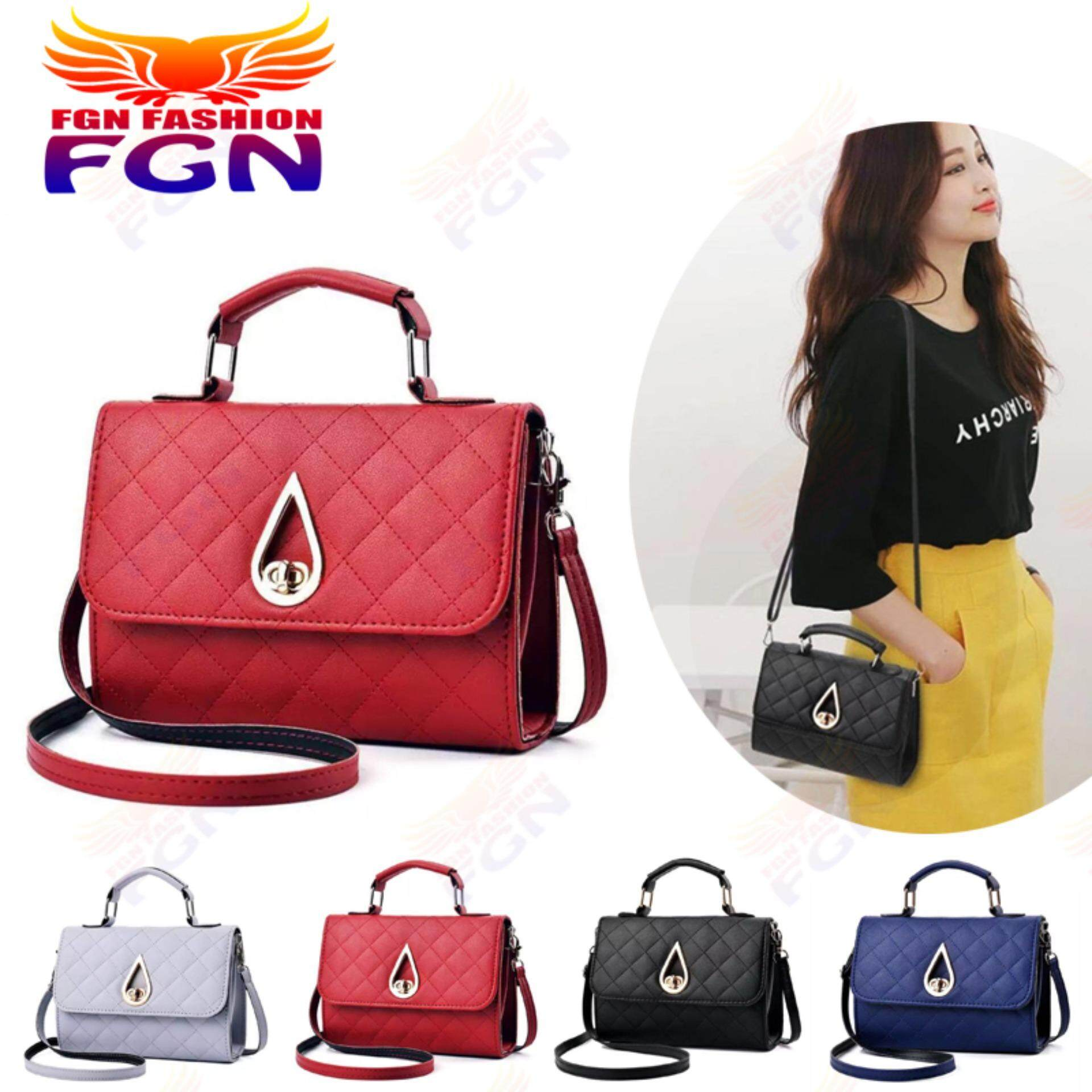 กระเป๋าสะพายพาดลำตัว นักเรียน ผู้หญิง วัยรุ่น ชุมพร FGN กระเป๋า กระเป๋าสะพาย กระเป๋าสะพายพาดลำตัว Women Shoulder bag FGN 086  มีสีให้เลือก4สี (สีแดง)