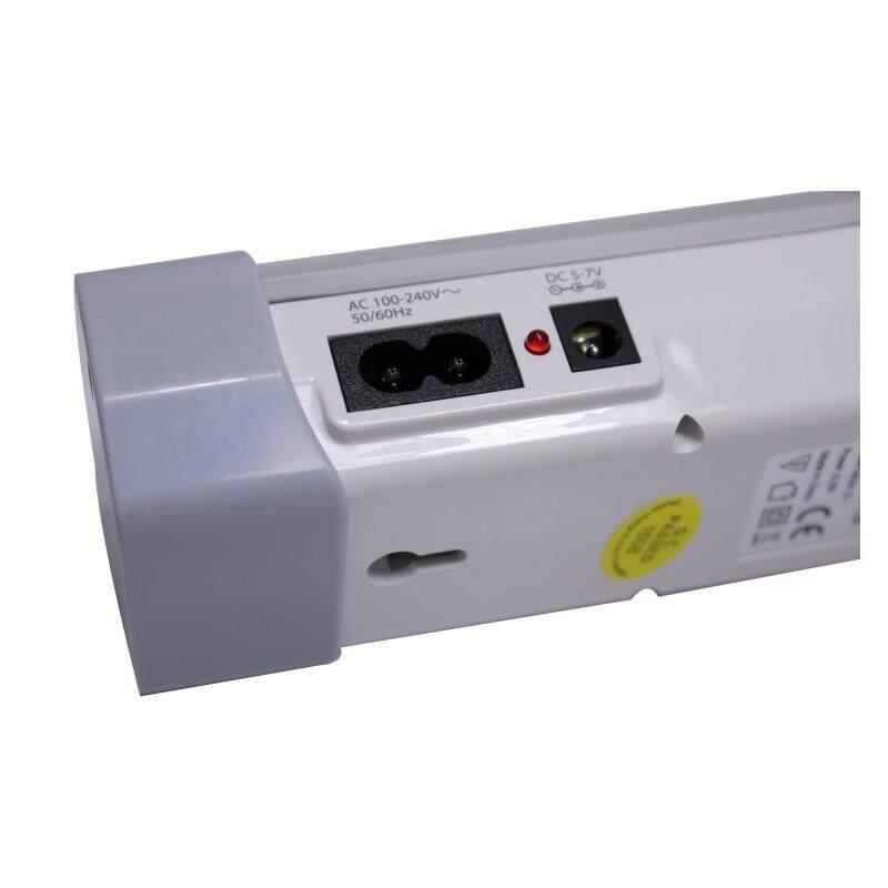 [Slix] DP.LED Light โคมไฟฉุกเฉิน/ลอย/แขวน 82 LED แบตเตอรี่ความจุ 3900 MAH รุ่น DP-7124 (สีขาว) โคมไฟฉุกเฉิน led ไฟสำรองฉุกเฉิน ไฟฉุกเฉินติดรถ ไฟฉุกเฉิน led ส่งฟรี Kerry เก็บเงินปลายทางได้