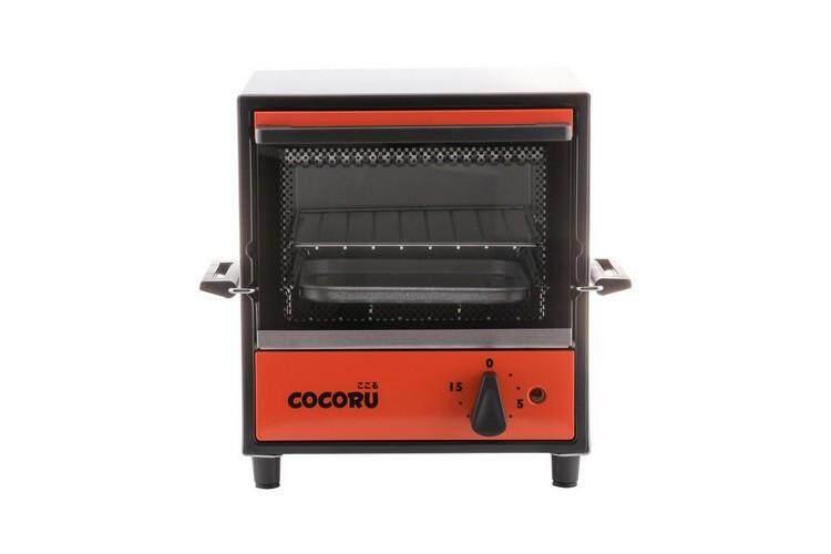 รุ่นใหม่ล่าสุด อุ่นอาหารร้อนเร็ว ประหยัดไฟ ฟังก์ชันพร้อม ใช้งานสะดวก Microwave เตาอบเล็กแมนนวล COCORU DENKI OBEN 5L ส้ม COCORU DENKI OBEN OR