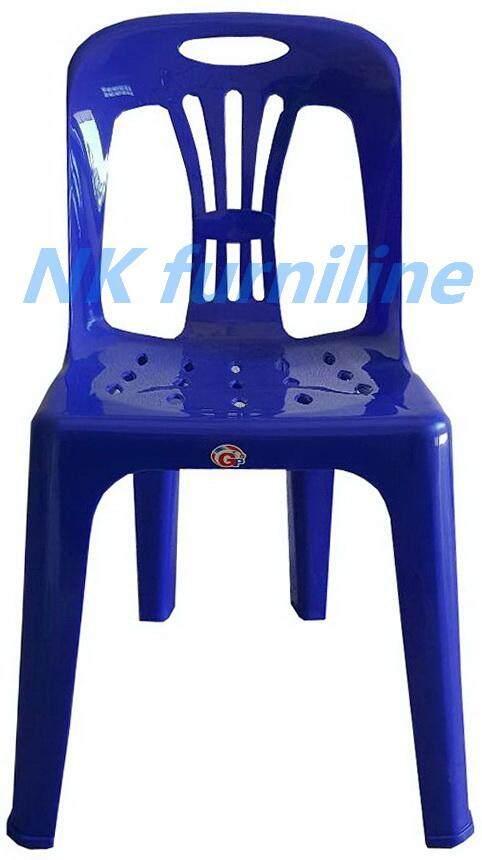 เช่าเก้าอี้ กรุงเทพ NK Furniline เก้าอี้พลาสติก เกรดAมีพนักพิง ปลายขามียางกันลื่น รุ่น CPA 989