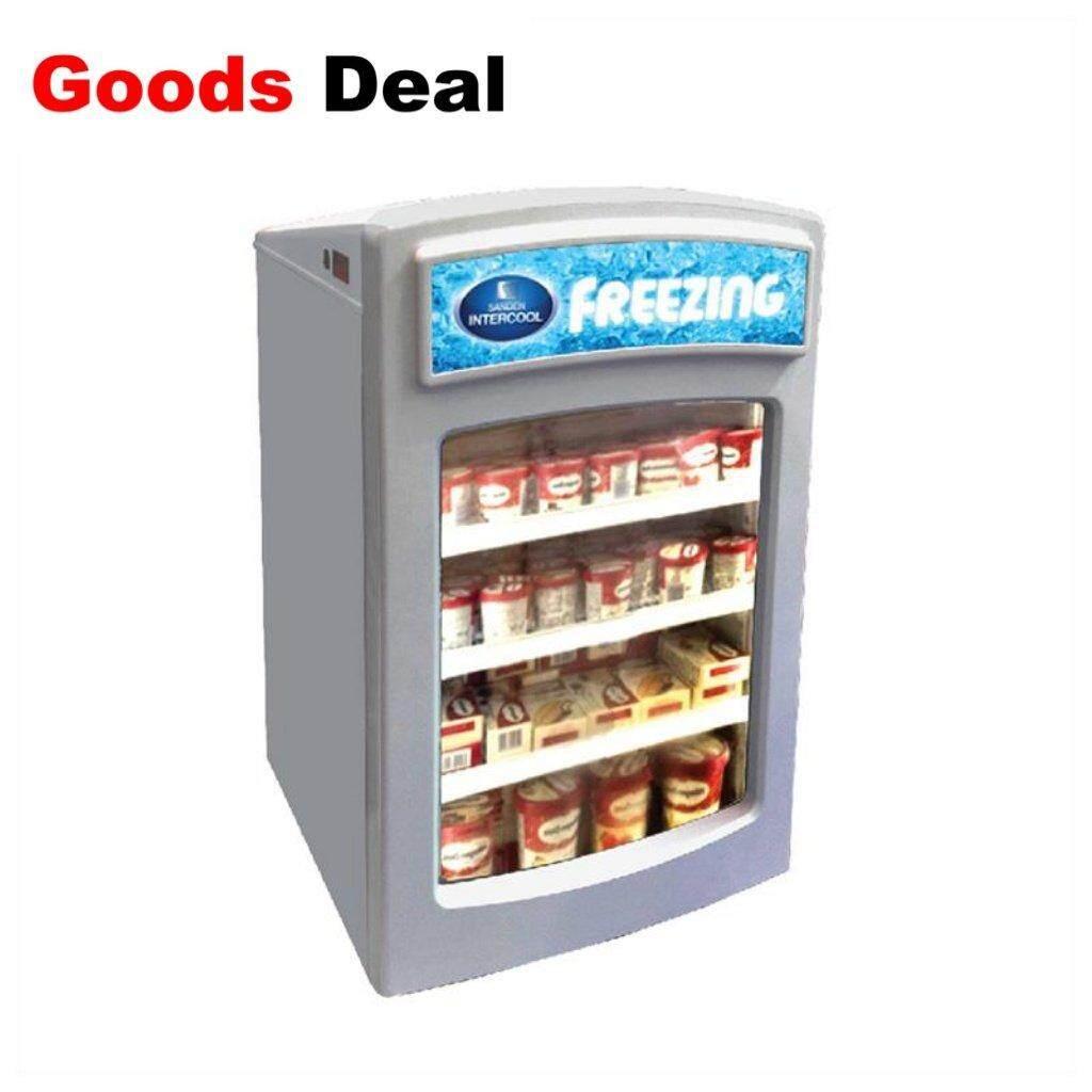 แม่ฮ่องสอน ตู้แช่แข็ง Sanden Intercool ตู้แช่เย็น 3.4 คิว รุ่น SNR-0085