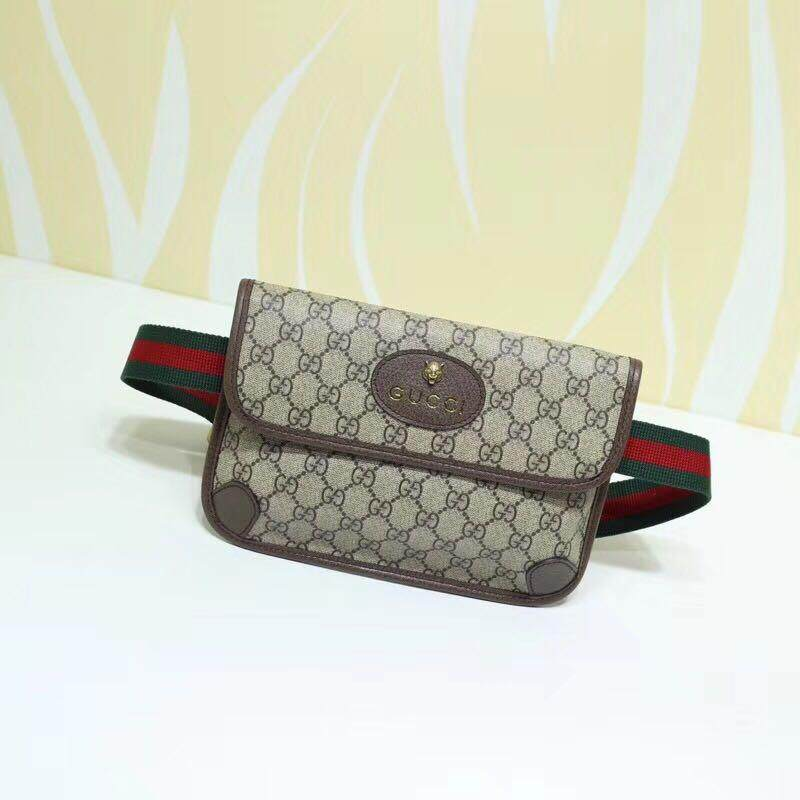 กระเป๋าเป้สะพายหลัง นักเรียน ผู้หญิง วัยรุ่น เลย กระเป๋าสะพายข้าง การเป๋าใส่พาสปอร์ต กระเป๋าไฮโซ Bag Size 28 cm ของมันต้องมี กระเป๋าคาดเอว Gucci Bag Oirgianl กระเป๋าใส่เอกสาร