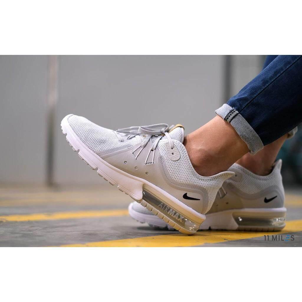 ยี่ห้อไหนดี  นราธิวาส 11milesstoreของแท้ !!!! พร้อมส่ง รองเท้าวิ่งผู้หญิง Nike รุ่น Nike Air Max Sequent 3