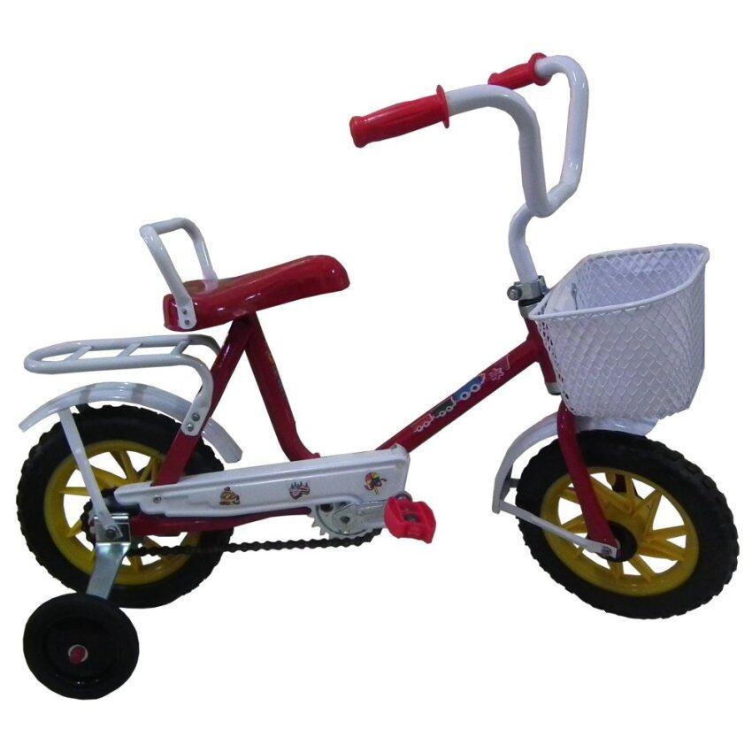 จักรยานโบราณ ขนาด 10 (สีแดง)