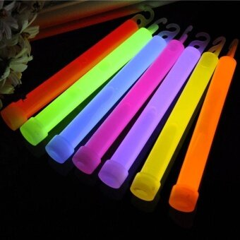 10pcs 6inch Glow Sticks Party Camping Emergency Fluorescent - intl - 2