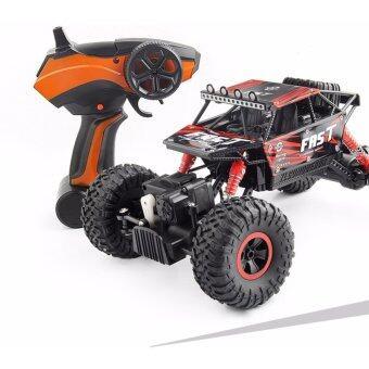 รถบังคับ ขนาด 1:18 สเกล รีโมท 2.4GHz 4wd รถไต่หิน รถบักกี้ รถบิ๊กฟุต รถออฟโรด Rock crawler terminator สุดแรง สุดลุย ! (ล็อตใหม่ปรับวัสดุดีขึ้น มาพร้อมถ่านรีโมท)