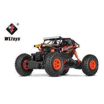 รถบังคับวิทยุ รถบังคับไฟฟ้า รถไต่หิน ลุยน้ำลุยโคลนสุดมัน ขนาด 1:18 Rock Crawler 4WD 2.4ghz (Red)