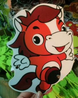 12 ราศีสัตว์กระดาษบทบาทวงยืดหยุ่นเกมหน้ากาก