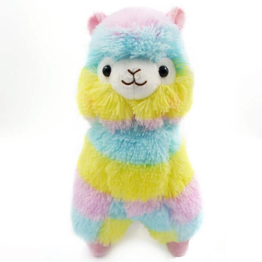 13CM Colorful Kawaii Alpaca Llama Arpakasso Soft Plush Toy Doll Gift Cute Toys - intl