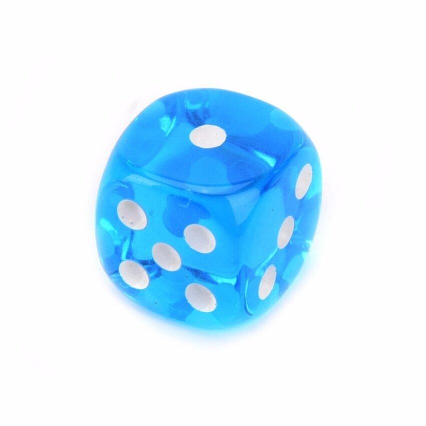 14mm Acrylic Precision Casino Grade Craps Dice lightblue - intl