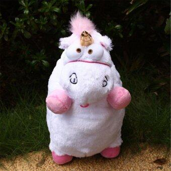 "16"" inch New Despicable Me Fluffy Unicorn White Soft Plush DollFluffy Toys Gift - intl"