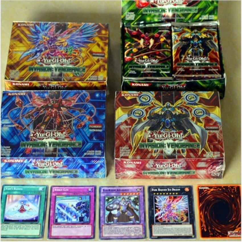 16Pcs /Lot New Yugioh Card Toy English Version High Quality KidsChildren Shadow Specters Yugioh Card Toy Action Figures toys - intl