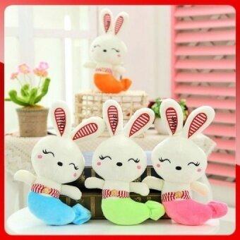 25cm wholesale kawaii fish rabbit plush toys pendant stuffed kids toys Children gift Wedding present 1piece - intl