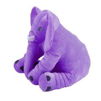 โอ้เด็ก ๆ สัตว์สตัฟฟ์รองนอนนุ่มหมอนตุ๊กตาช้างรัก 28ซม x 33ซม