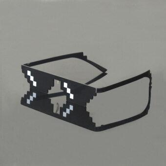 แว่นตากันแดดโหลดแว่นตากันแดดพิกเซลแว่นตา 2D Word
