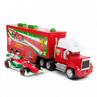 2pcs/set Cars Pixar Francesco Mack Superliner Truck Diecast 1:55Metal Models Vehicles Kids Toy Car Toys For Children Gift