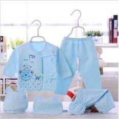 เสื้อผ้าเด็กแรกเกิด 3 เดือน - 2 ขวบ set 5 ชิ้น KDMC0003