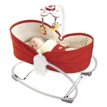 3 In 1 Rocker Napper - Red