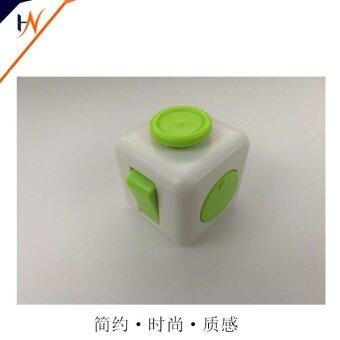 3 pcs The United States anti irritability anxiety decompression decompression decompression decompression cube Shouyang artifact office cube adultgreen - intl