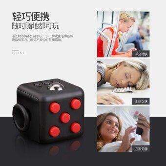 3 pcs Unzip Rubik's cube  Fidget Cube  anti irritability  anxiety relief  pressure relief  dice  artifact  toy wholesaleHot mix color - intl