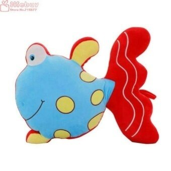 30-65CM Wholesale t home decorate Goldfish plush toy koi pillow cushion dolls cloth doll kids toys baby toy birthday gift - intl