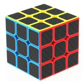 3×3×3 Puzzle Rubik's Cube Educational Toys Carbon fiber filmstickers Block Puzzle Rubik's Cube