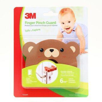 3M ที่กันประตูหนีบ Finger Guard ลายหมี ...