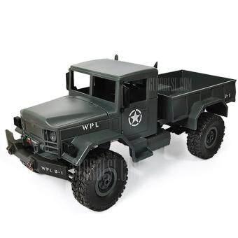 รถบรรทุก4WD สมัยสงครามโลก บังคับวิทยุ สวยงามสมจริงทุกสัดส่วน Mini Off-road RC Military Truck - RTR1 : 16 -SMOKY GRAY