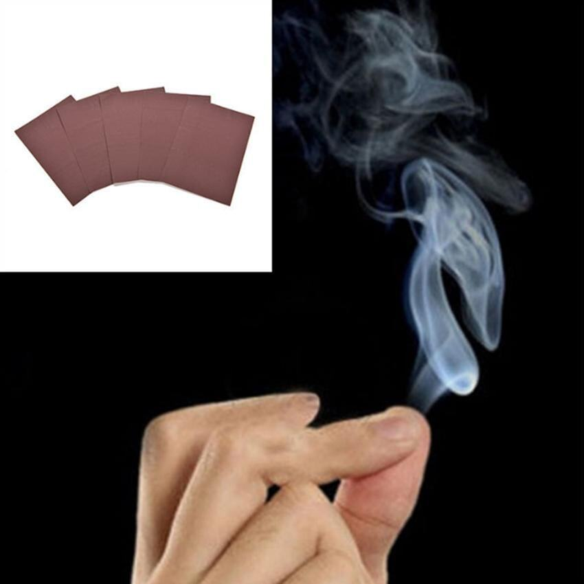 5 Pcs Novelty Mystic Finger - Smoke Magic Trick Magic Illusion Stage Close-Up Stand-Up Smoke Magic tool - intl