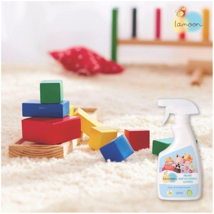 ละมุน น้ำยาทำความสะอาดของใช้เด็ก 500 มล. (สเปรย์) image