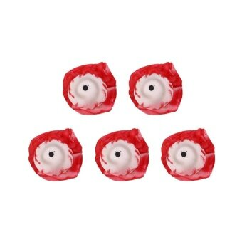 5Pcs Halloween Gory Severed Eye Ball Eyeball Party Decor Prop BloodZombie - intl