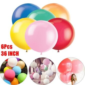 6 X 36 inch 90cm - Large Giant Oval Latex Big Balloon - Wedding Party Decoration - intl
