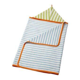 ผ้าเช็ดตัวเด็กมีฮู้ด ฟ้าอ่อน เขียว ขนาด 60x125 ซม.