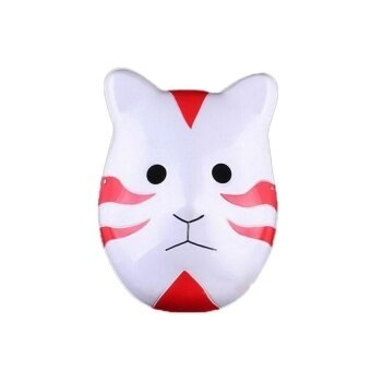 Adjustable Adult Itachi Red Cat Cosplay Mask For Hallowen - intl