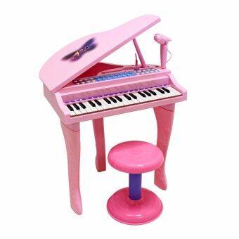 แกรนด์เปียโนพร้อมไมค์ (สีชมพู) รุ่น 88022A