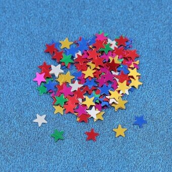 AJKOY Pentagram Bright Piece Birthday Party Confetti WeddingDecoration - intl