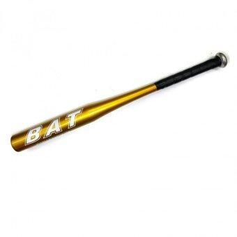 Aluminum Alloy Baseball Bat Racket Softball 28'' (Gold) ไม้เบสบอลเหล็กอลูมิเนี่ยม แข็งแรงทนทานชนิดน้ำหนักเบาพิเศษ - 2