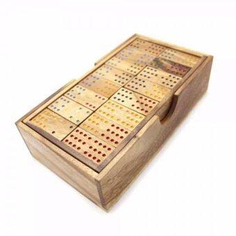 Ama-Wood ของเล่นไม้ โดมิโน่ 12 แต้ม (Domino 12 Points)