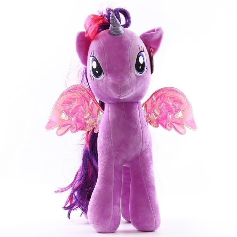American Pony Plush Toy Baoli Doll Rainbow Dash Gift For Children(size:18cm Color:white) - intl