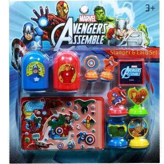 ANDA TOY ชุดสแตมป์ ตัวปั๊ม Marvel Avengers HE1265