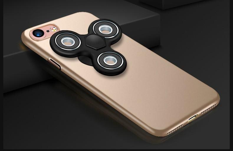 Apple 7 Fidget Spinner Finger phone case all-inclusive wrestling iPhone7 new matte hard shell - intl