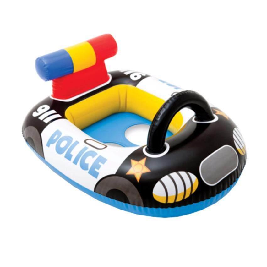 Astro INTEX ห่วงยางว่ายน้ำเด็กเล็ก แบบสอดขา รุ่น 59586 รูปรถตำรวจ
